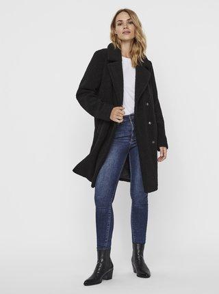 Černý kabát VERO MODA Lucinda