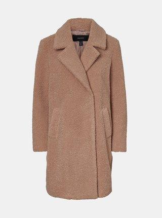 Starorůžový kabát VERO MODA Lucinda