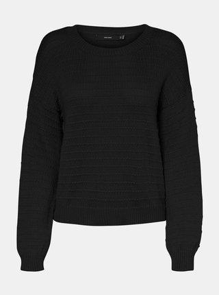 Čierny sveter VERO MODA Citro
