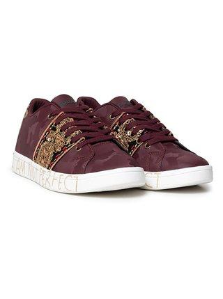 Desigual vínové tenisky Shoes Cosmic India