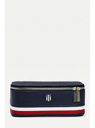 Tommy Hilfiger modrý kosmetický kufřík TH Essence Vanity Case Corp