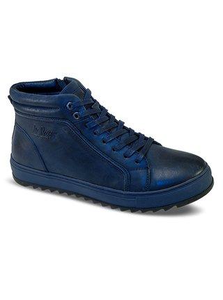 Lee Cooper modré pánské boty Blue Unique