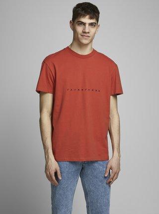 Oranžové tričko Jack & Jones Orcopenhagen