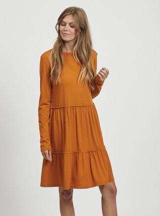 Oranžové volné šaty VILA Sheeran