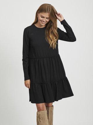Černé volné šaty VILA Sheeran