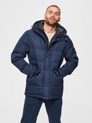 Tmavomodrá zimná bunda Selected Homme Josh