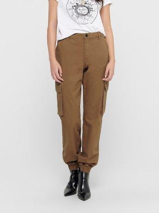 Pantaloni chino pentru femei ONLY - maro
