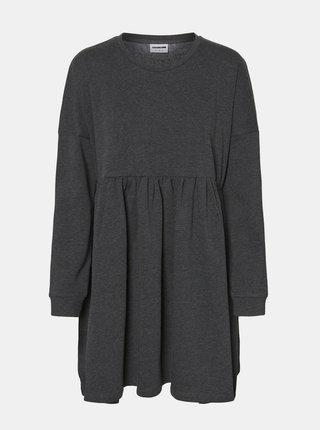 Čierne mikinové šaty Noisy May Nelli