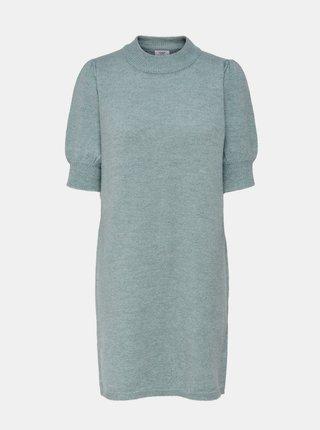 Modré svetrové šaty Jacqueline de Yong Rue