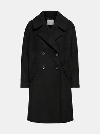 Černý kabát Jacqueline de Yong Storm