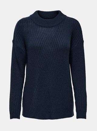 Tmavomodrý sveter Jacqueline de Yong Zofra