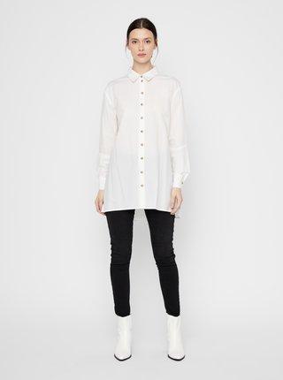 Camasi pentru femei Pieces - alb