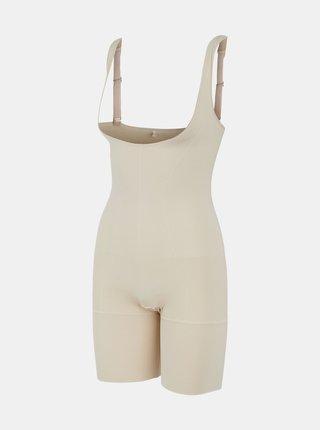 Krémové stahovací spodní prádlo Pieces Bella