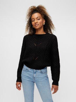 Čierny sveter Pieces Rachel