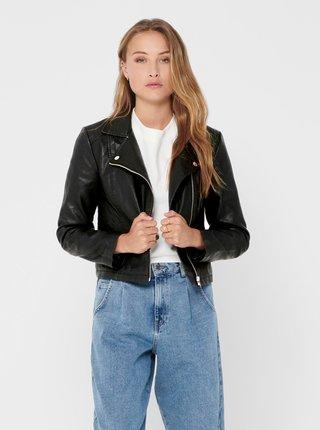 Jachete din piele naturala si sintetica pentru femei Jacqueline de Yong - negru