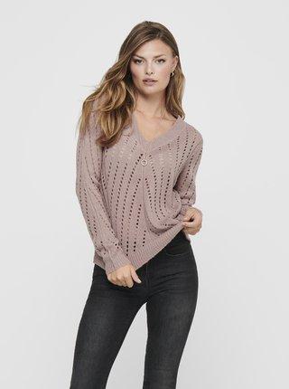 Béžový svetr Jacqueline de Yong Kristen