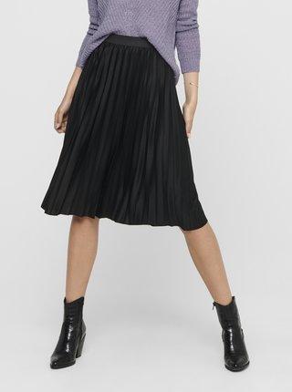 Černá plisovaná sukně Jacqueline de Yong Gayel