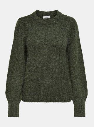 Tmavozelený sveter Jacqueline de Yong Portman