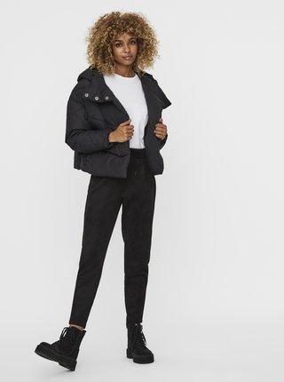 Čierna prešívaná zimná bunda Noisy May Wally