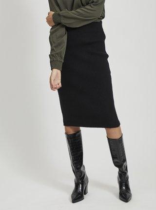 Čierna púzdrová sukňa VILA Ril