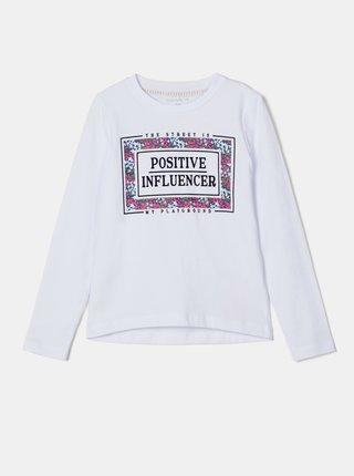Bílé holčičí tričko name it Nalaska
