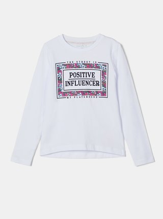Biele dievčenské tričko name it Nalaska