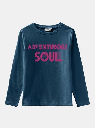 Modré dievčenské tričko name it Vix