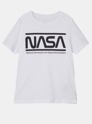 Bílé klučičí tričko name it Nasa