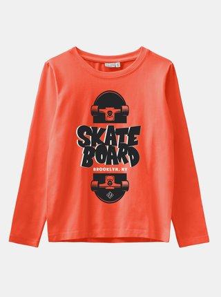 Oranžové klučičí tričko name it Vux
