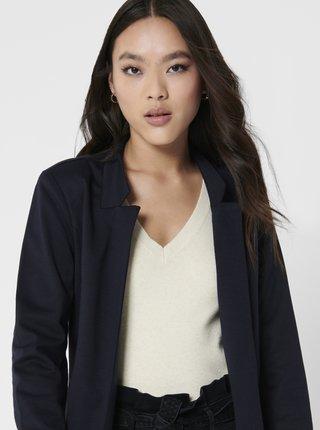 Tmavě modrý lehký kabát ONLY Penny