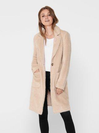 Béžový lehký kabát ONLY Claire
