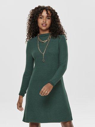 Zelené svetrové šaty ONLY Kleo