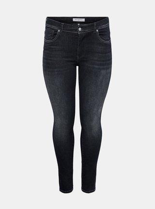 Černé skinny džíny ONLY CARMAKOMA Maya