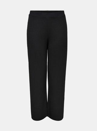 Čierne nohavice ONLY CARMAKOMA Kerve