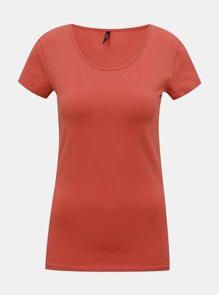 Červené tričko ONLY Live