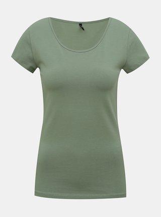Zelené tričko ONLY Live