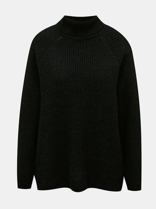 Černý svetr s rolákem ONLY Jade