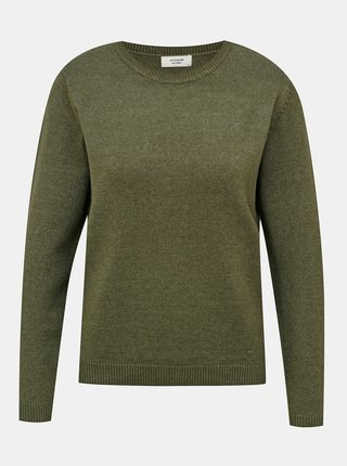 Tmavozelený sveter Jacqueline de Yong Marco