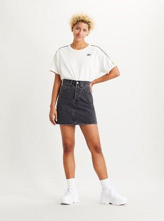 Čierna rifľová sukňa Levi's®