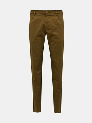 Hnedé chino nohavice ONLY & SONS Cam