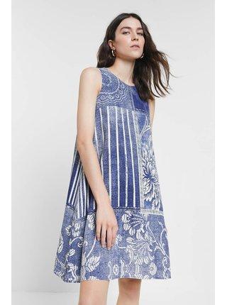 Desigual modré šaty Vest Karen