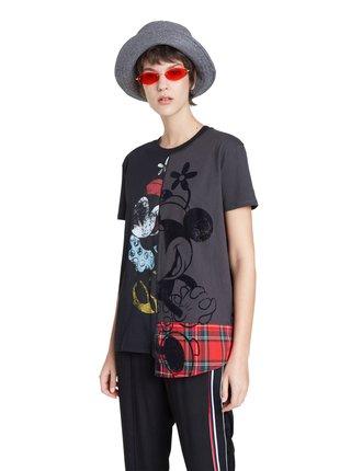 Desigual černé tričko TS Minniemix