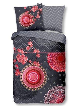 Home farebné posteľné obliečky na jednolôžko Minako 135x200cm