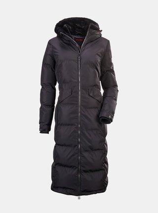 Černý dámský dlouhý voděodolný kabát killtec