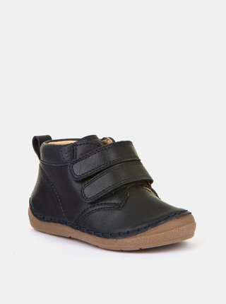 Tmavě modré klučičí kožené boty Froddo