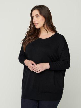 Černý lehký svetr Zizzi