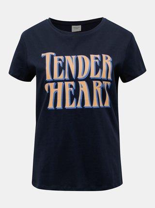 Tmavomodré tričko Jacqueline de Yong Brenda
