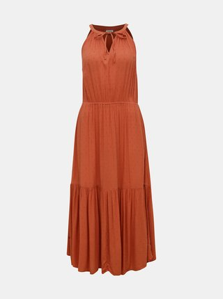 Cihlové šaty Jacqueline de Yong Lima