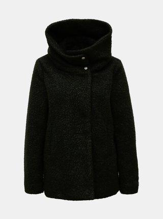 Černý krátký kabát Jacqueline de Yong Sonya