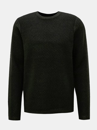 Čierny sveter ONLY & SONS Loocer